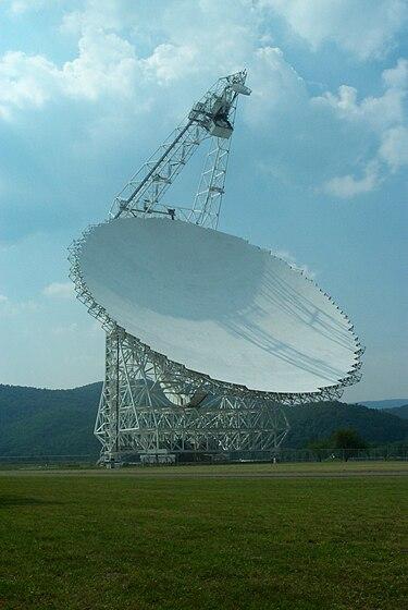 QANON - Что сейчас происходит? Обсуждение событий, связанных с раскрытием (2ч) - Страница 9 375px-Green_Bank_Telescope