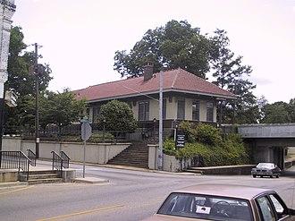 Greenville, Alabama - Image: Greenville AL Greenville Depot