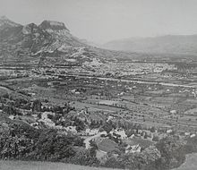 Photo de Grenoble en 1929.