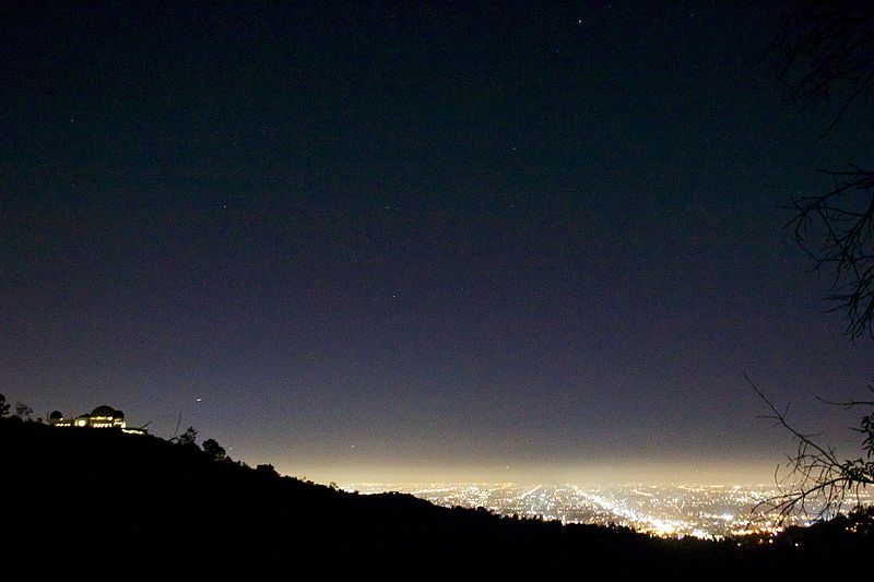 File:Griffith Observatory 2012 Light pollution.jpg
