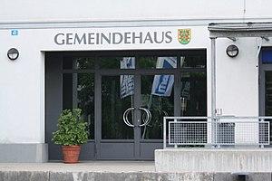 Grossaffoltern - Grossaffoltern municipal building