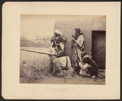 Group of Afridis at Jamrūd, 1866 WDL11469.png