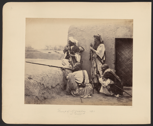 Afridi - Afridis at Jamrūd Fort (1866) by Charles Shepherd (photographer). Jamrūd Fort was strategically located at the eastern entrance to the Khyber Pass in present-day Pakistan