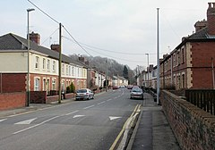 Grove Road, Risca - geograph.org.uk - 1757562.jpg