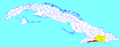 Guamá (Cuban municipal map).png