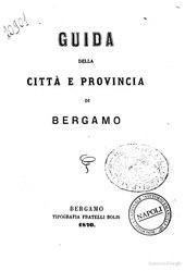 Guida della città e provincia di Bergamo