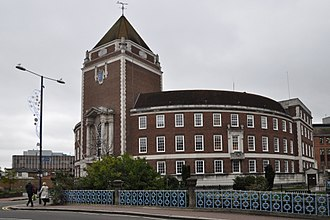 Royal Borough of Kingston upon Thames - The Guildhall in Kingston is the home of the Borough Council