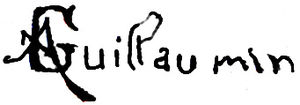 Armand Guillaumin - Image: Guillaumin signature