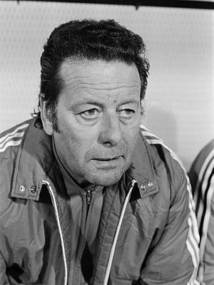 Guy Thys - Guy Thys pictured in 1977