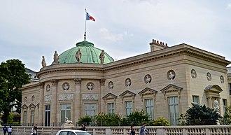Palais de la Légion d'Honneur - The Hôtel de Salm in 2014
