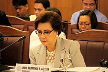 Roman during a Philippine House of Representatives session HBR congress.jpg