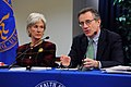 HHS Secretary Kathleen Sebelius and Jay Angoff announce new rules bringing transparency and scrutiny to proposed health insurance rate increases.jpg