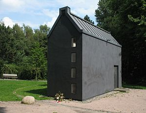 Rothenburgsort - Memorial to victims of the Bombing of Hamburg in World War II