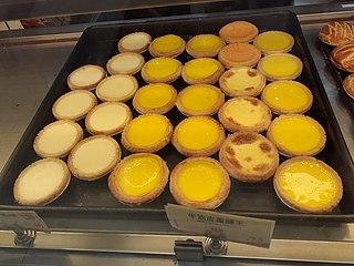 Egg tart Type of custard tart