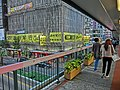 HK Wan Chai 灣仔 告士打道 144-149 Gloucester Road footbridge view Tom Lee Music 城市大廈 City Centre Building Mar-2013.JPG