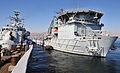HMS Cornwall Alongside RFA Diligence in the Middle East MOD 45152166.jpg