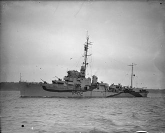 Destroyer escort - Image: HMS Dacres