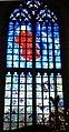 Haarlem Bavokerk grote markt- blauwe raam.jpg