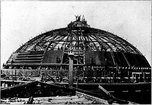 Haarlem panopticon under construction