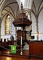 Haarlim, Grutte- of Bavotsjerke, preekstoel.jpg
