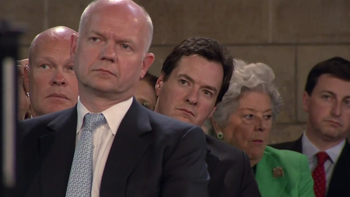 English: Foreign secretary William Hague and C...