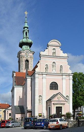 Hainburg an der Donau - The church in Hainburg