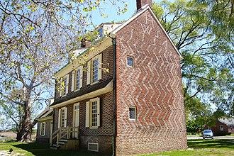 Hancock House (Lower Alloways Creek Township, New Jersey) - Hancock House, in 2010