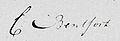 Handtekening Carel Bentfort in 1818.jpg