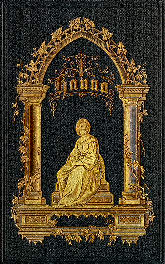 Gold leaf - Early 20th century leather book cover, with gold leaf ornamentation.