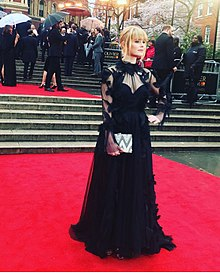 Hannah Arterton Oliviers Red Carpet 2018.jpg