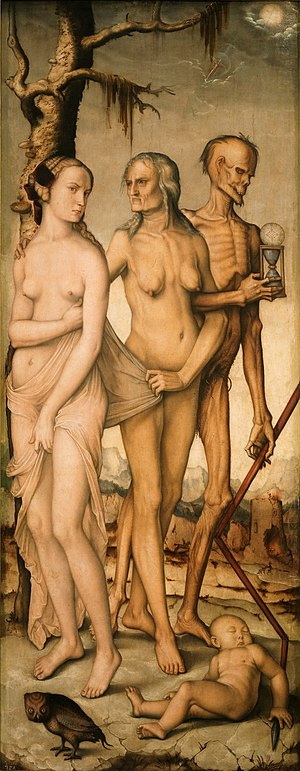 The Three Ages of Man and Death - Image: Hans Baldung 009