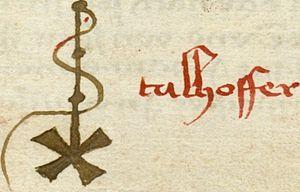 Hans Talhoffer - Image: Hans Talhoffer Sig 1
