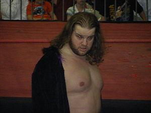 Hanson (wrestler) - Handsome Johnny in 2008