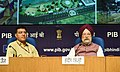 Hardeep Singh Puri addressing a press conference on the initiatives & achievements of the Ministry of Housing & Urban Affairs during the last four years, in New Delhi.JPG