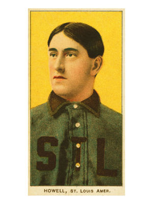 Harry Howell (baseball) - Image: Harry Howell T206