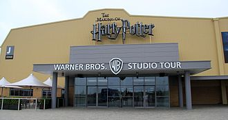 Warner Bros. Studios, Leavesden - The entrance to the Warner Bros. Studio Tour London – The Making of Harry Potter