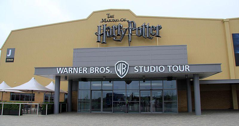 Fichier:Harry Potter Leavesden entrance.jpg