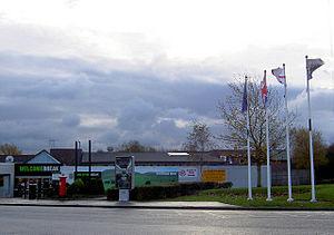 Hartshead Moor services - The westbound service area