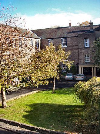Hatfield College, Durham - Main court