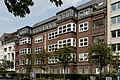 Haus Cecilienallee 37 bis 38a in Duesseldorf-Golzheim, von Sueden.jpg