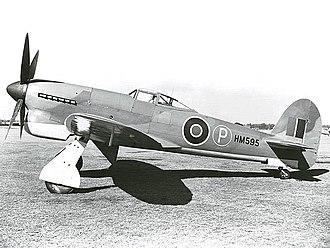 Hawker Tempest - Image: Hawker Tempest Ex CC
