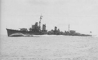 Japanese destroyer Hayanami - Hayanami