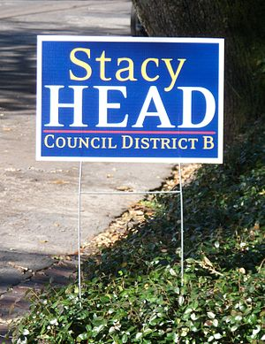 Stacy Head - Head seeks reelection to District B in 2010.