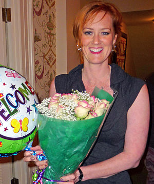 "Heather Brooke - Heather Brooke in 2010 welcomed home to Washington State for her ""Key Award"""
