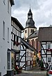 Heimbach Teichstraße und Pfarrkirche.jpg