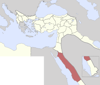 Sharifate of Mecca - After 1872, the Sharifate was coterminous with the Hejaz Vilayet.