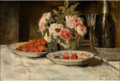 Henri de Braekeleer - Strawberries and champagne.tiff