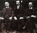 Henrique Faccini, Carlos Jansson e Arthur do Vale Quaresma (1906).jpeg