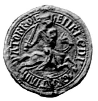 Henry of Flanders - Seal of Henry of Flanders