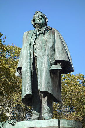 Henry Ward Beecher by John Quincy Adams Ward - Brooklyn, NY - DSC07547.JPG